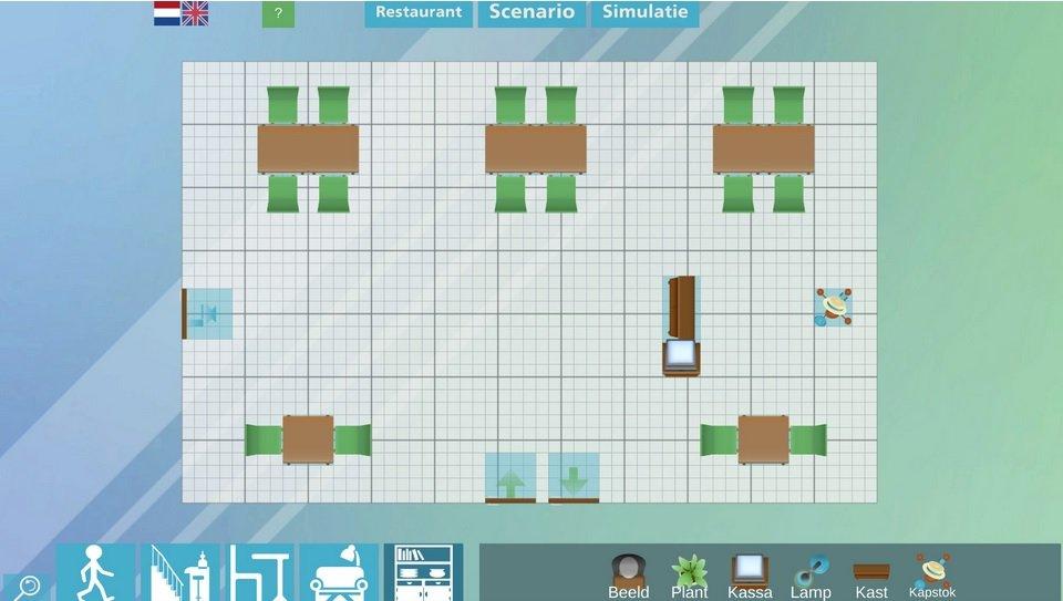 Schermafbeelding van de restauranttool - www.samenslimopen.nl