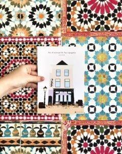 Plaatje van De Twee Spieghels - door Zoë Mattelé