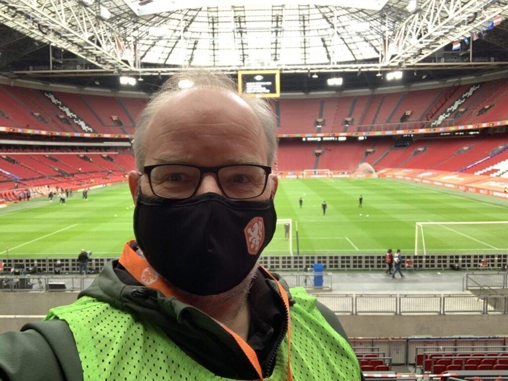 Jon van Exel in de ArenA - eigen foto