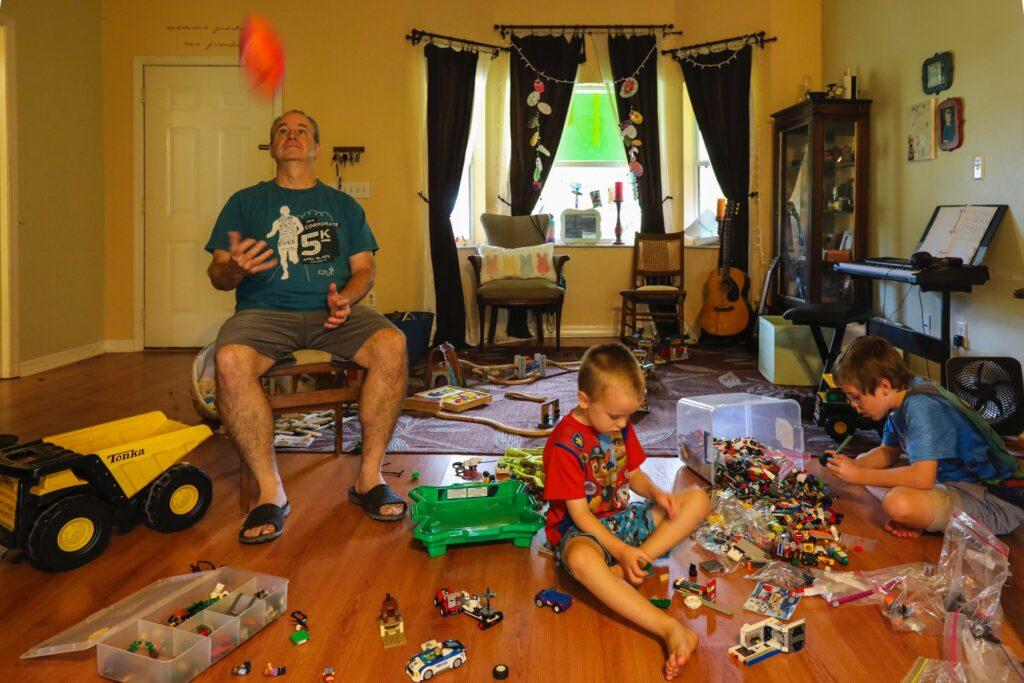 Thuiswerk gezin - Mick Haupt via Unsplash