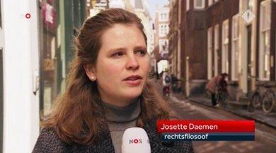 Josette Daemen - screenshot NOS Journaal