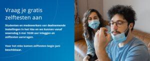 Screenshot van de website www.zelftestonderwijs.nl