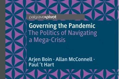 Titelpagina van het boek Governing the pandemic
