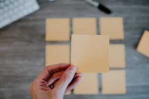 Gele briefjes - Kelly Sikkema via Unsplash
