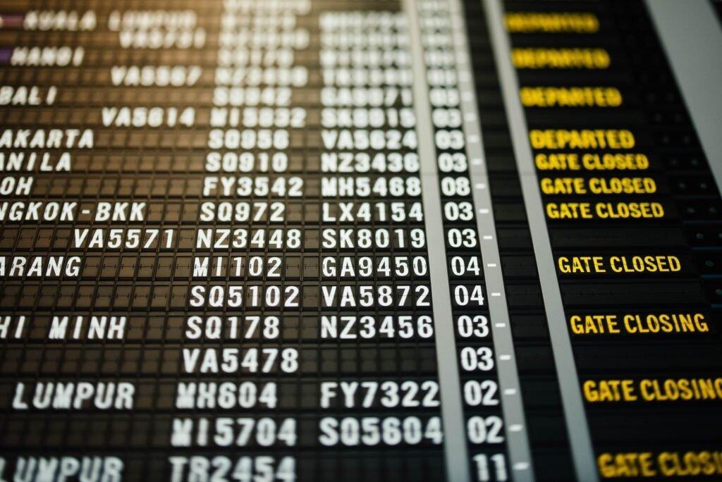 vliegveld - Chuttersnap via Unsplash