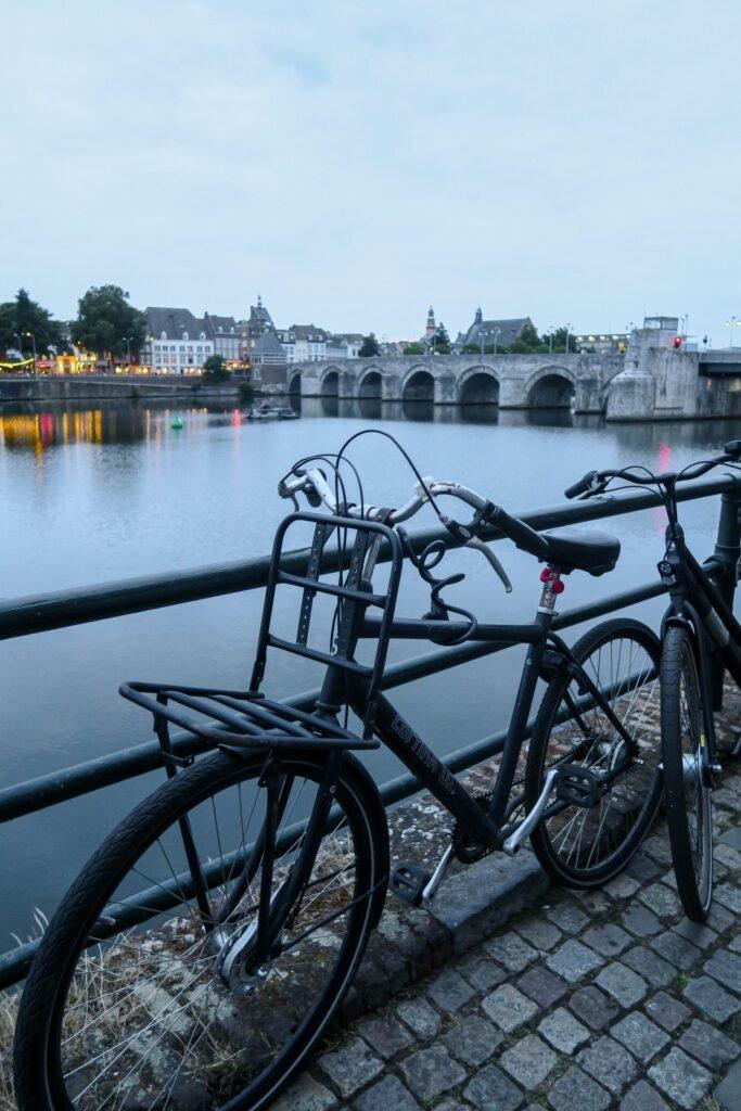 Fiets bij Maastricht